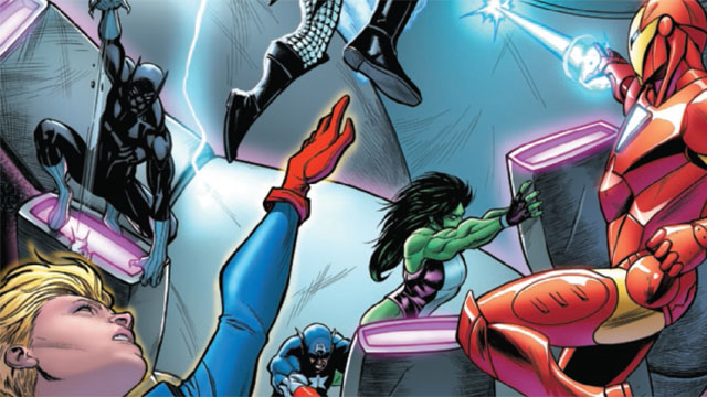 Exclusive Preview: Avengers #23