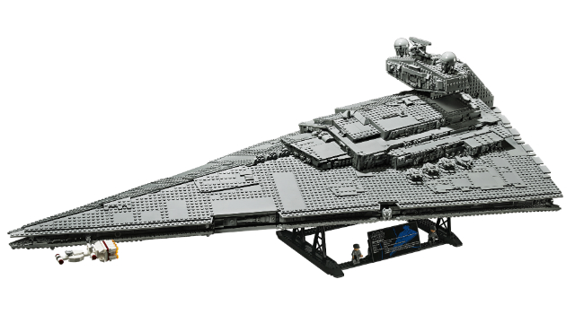 LEGO Reveals Massive Star Wars Imperial Star Destroyer Set