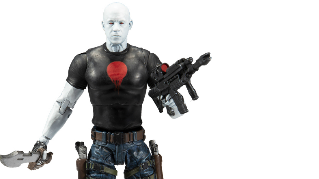 First Look at Vin Diesel as Bloodshot Via His New Action Figure