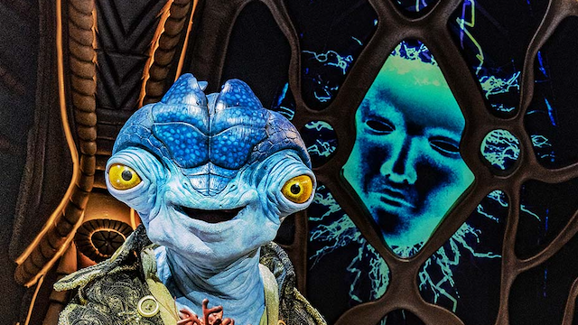Bringing Celebrity Talk Show Hosted By Alien to Disney+