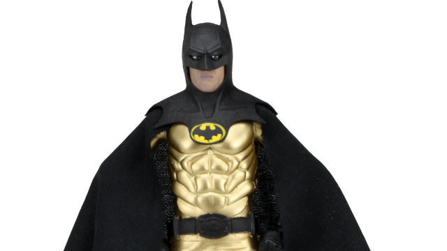 NECA Remakes Classic Kenner Gold Batman Figure