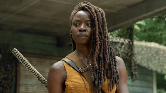 The Walking Dead's Andrew Lincoln Gives Danai Gurira a Musical Farewell