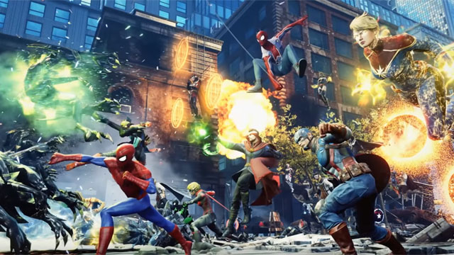 Watch the trailer for Marvel Future Revolution, an open-world crossover RPG