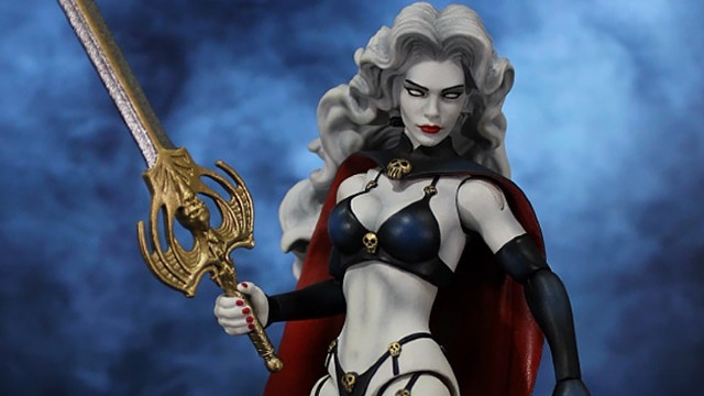 Lady Death Returns to the Action Figure Realm in 6-Inch Scale