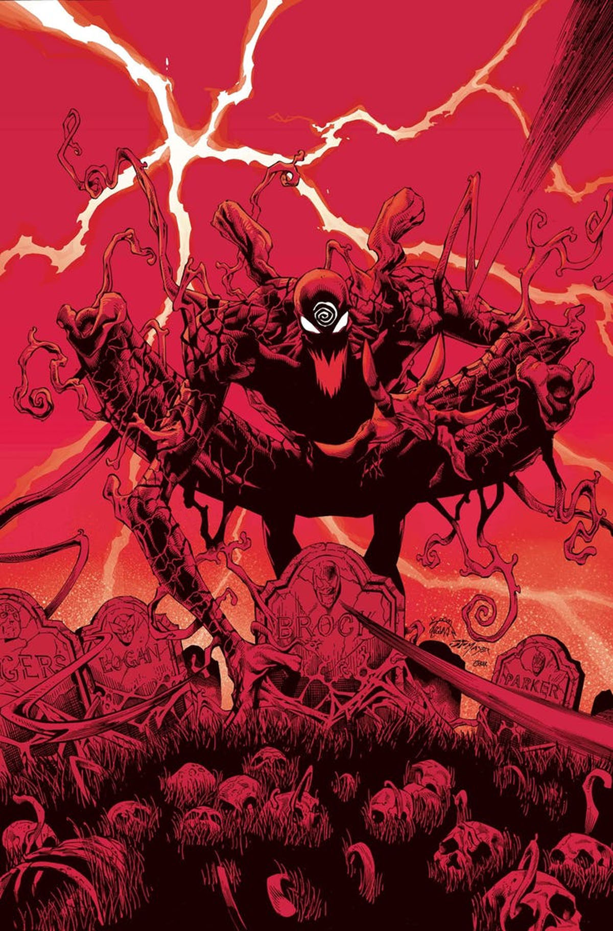 Absolute Carnage #1 cover