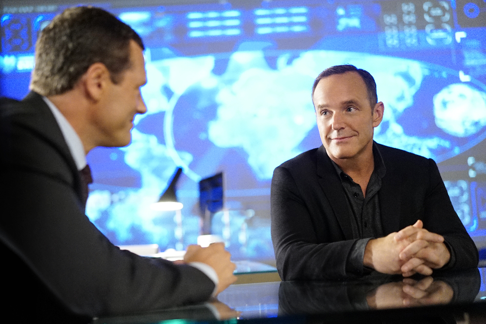 "Resultado de imagem para ""Meet The New Boss"" agents of shield"