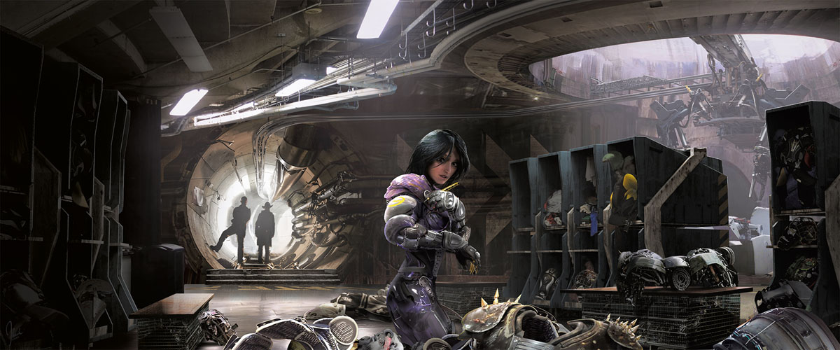 Alita: Battle Angel The Art and Making of the Movie 1