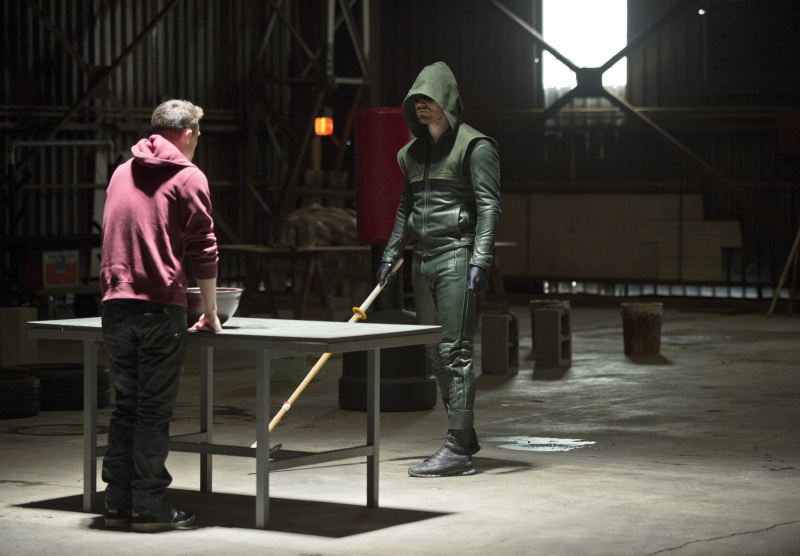 "ARROW 2.12 ""Tremors"""
