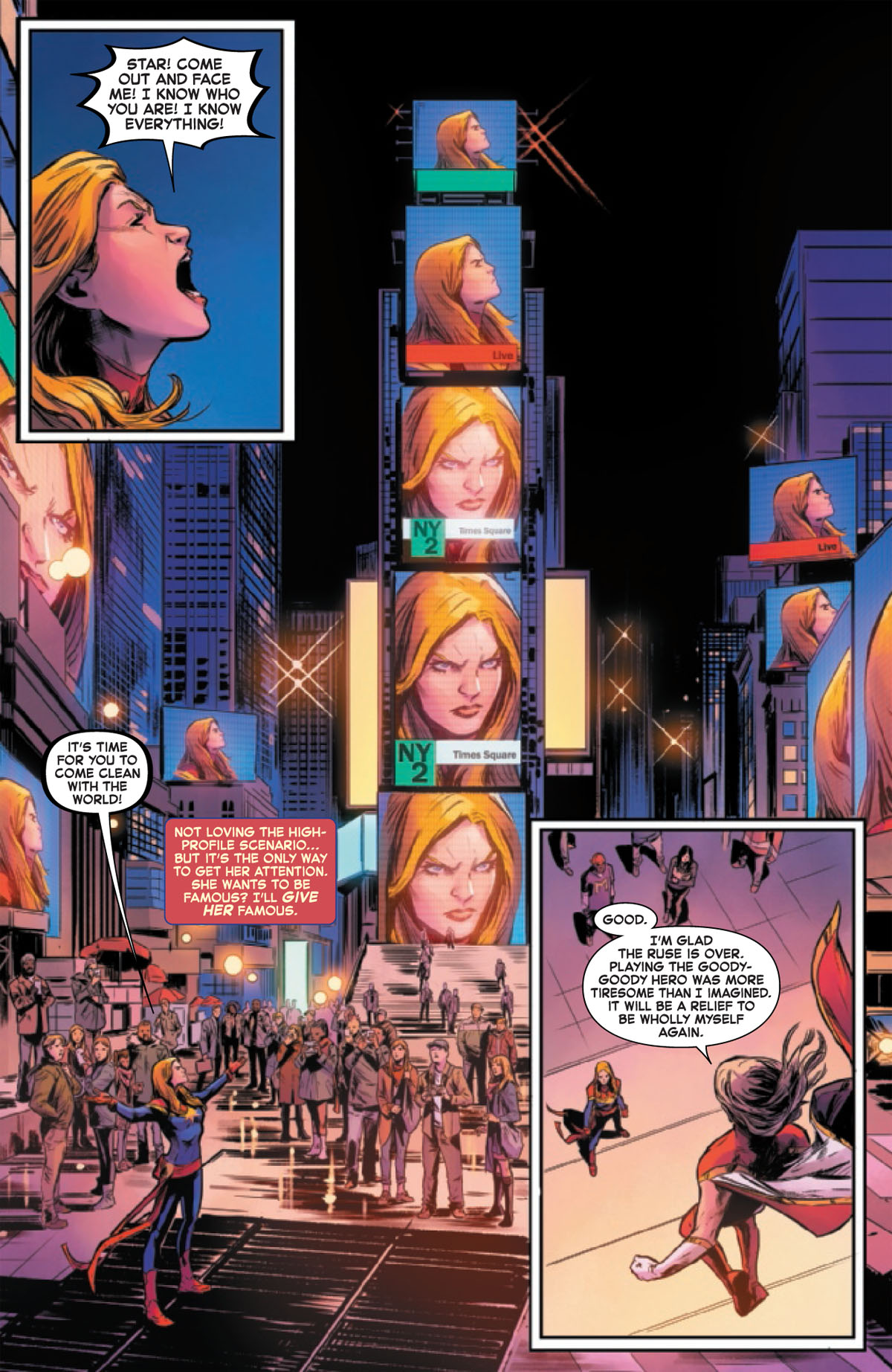 Captain Marvel #10 page 1