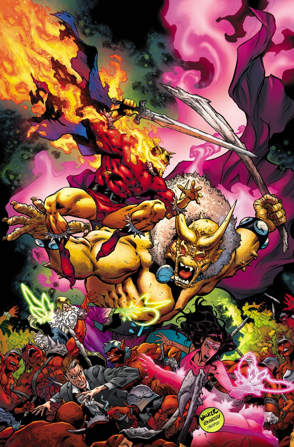 THE DEMON: HELL IS EARTH #6