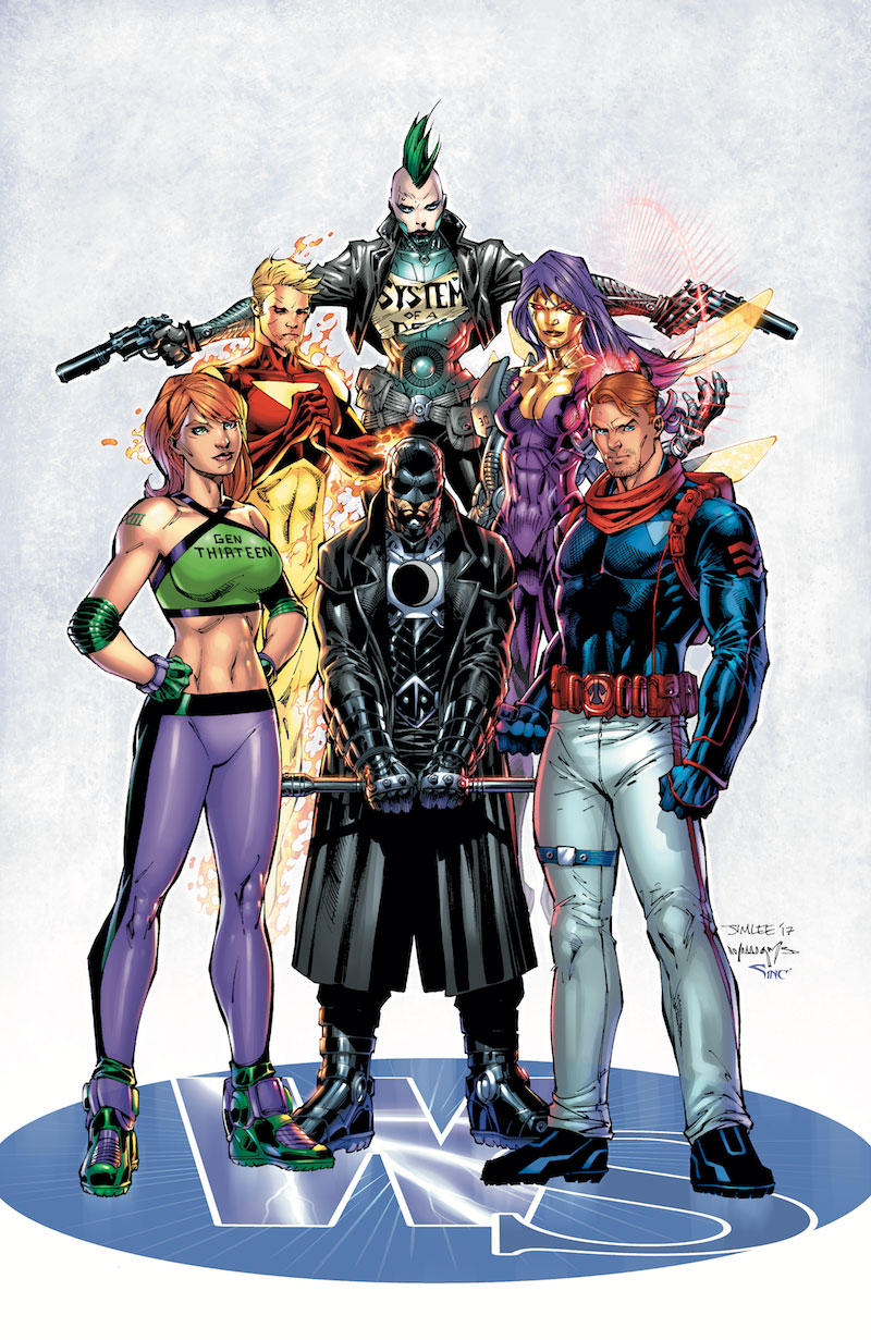 WILDSTORM: A CELEBRATION OF 25 YEARS HC
