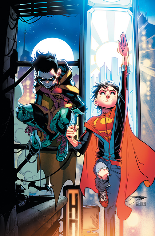 ADVENTURES OF THE SUPER SONS VOL. 1: ACTION DETECTIVE TP