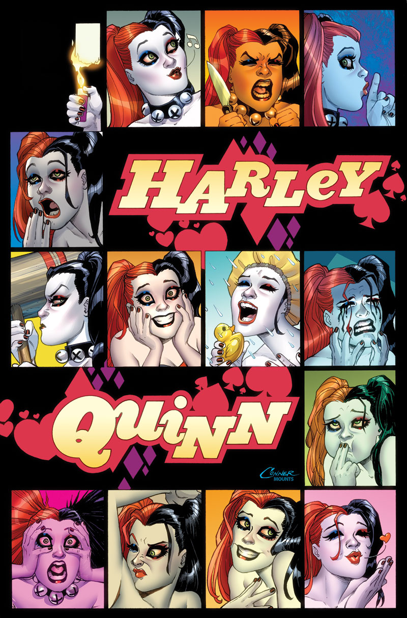 HARLEY QUINN: A ROGUES GALLERY—THE DELUXE COVER ART COLLECTION HC