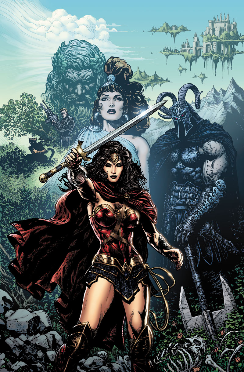 WONDER WOMAN: THE REBIRTH DELUXE EDITION BOOK ONE HC