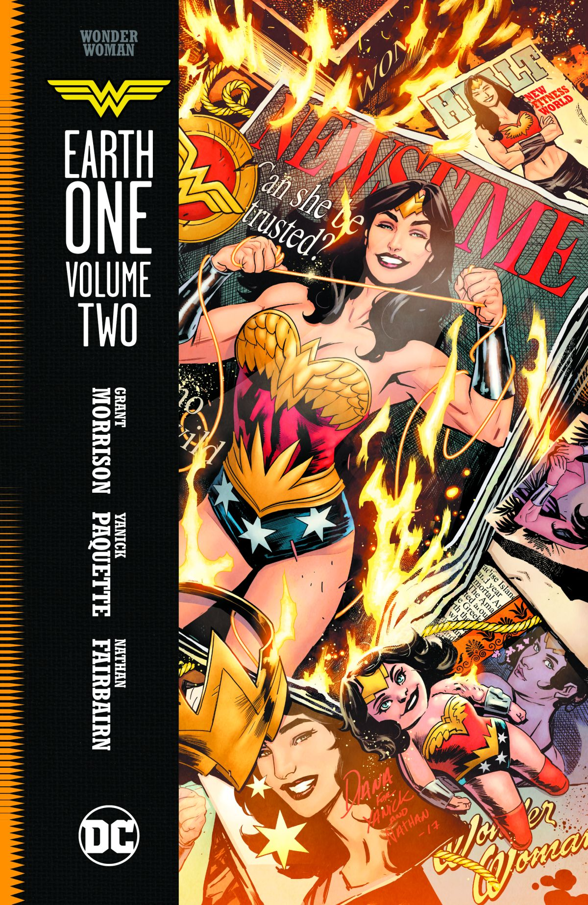 WONDER WOMAN EARTH ONE VOL. 2 HC