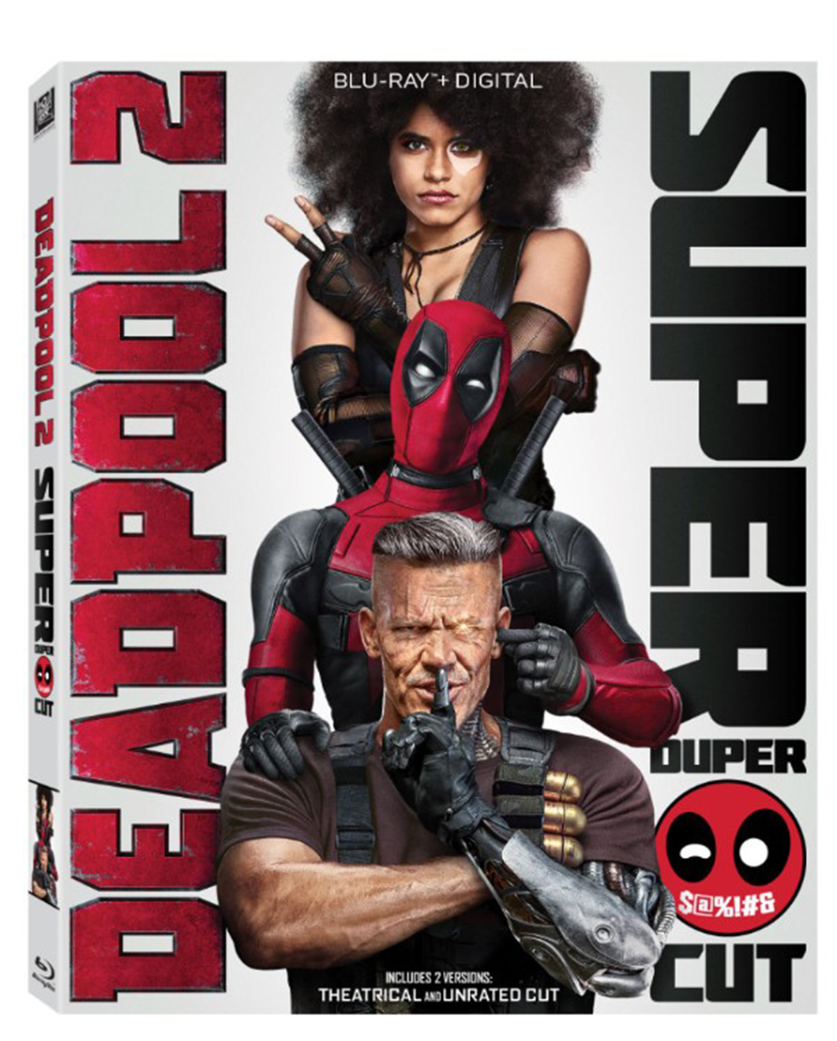Deadpool 2 Posters With Cable And Domino