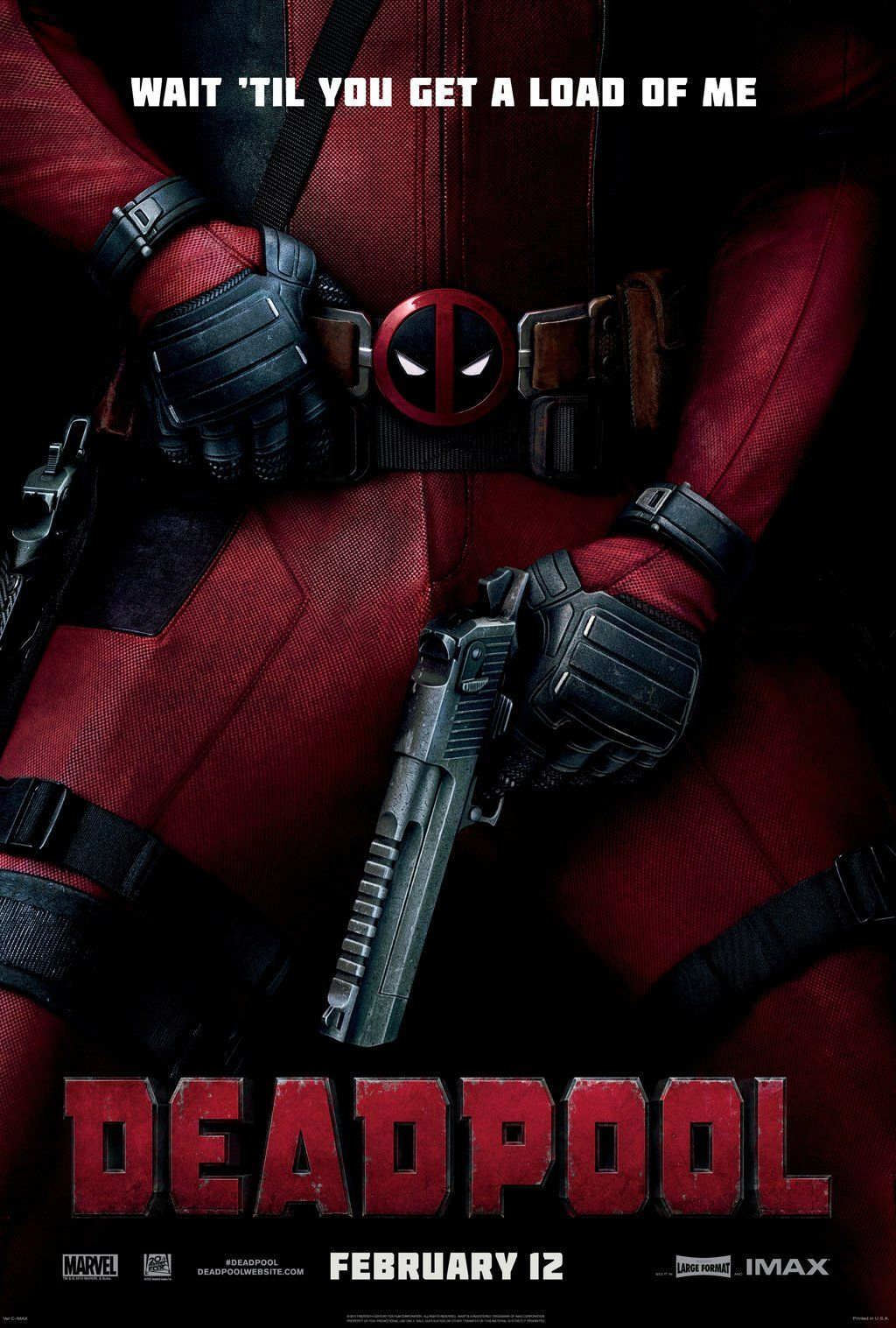 Imax Poster And Promo For Deadpool Released