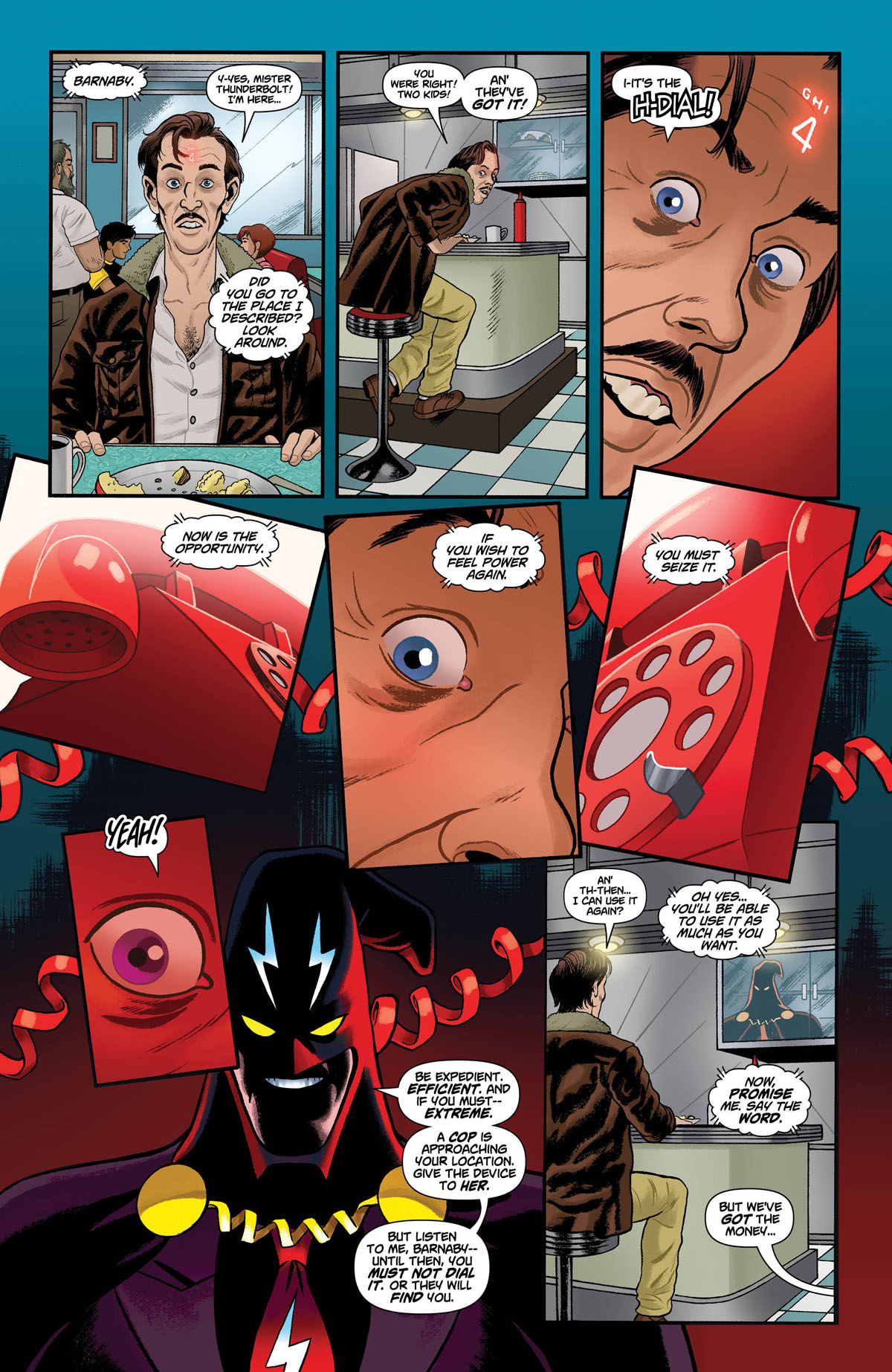 DIAL H FOR HERO #2 page 2.