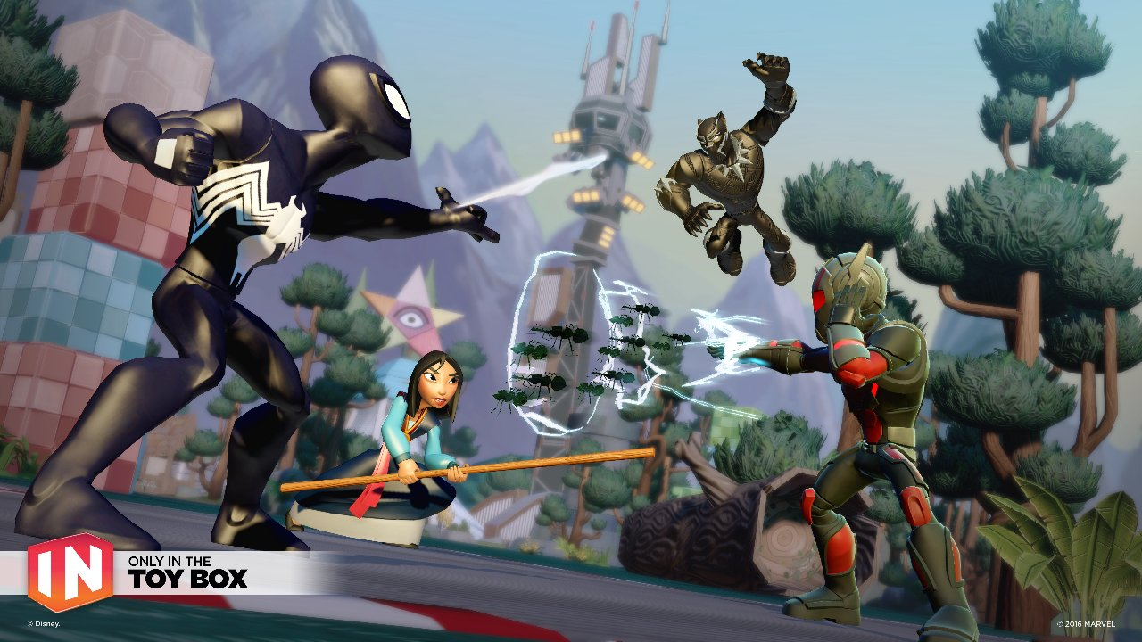Disney Infinity 3.0 Marvel Battlegrounds