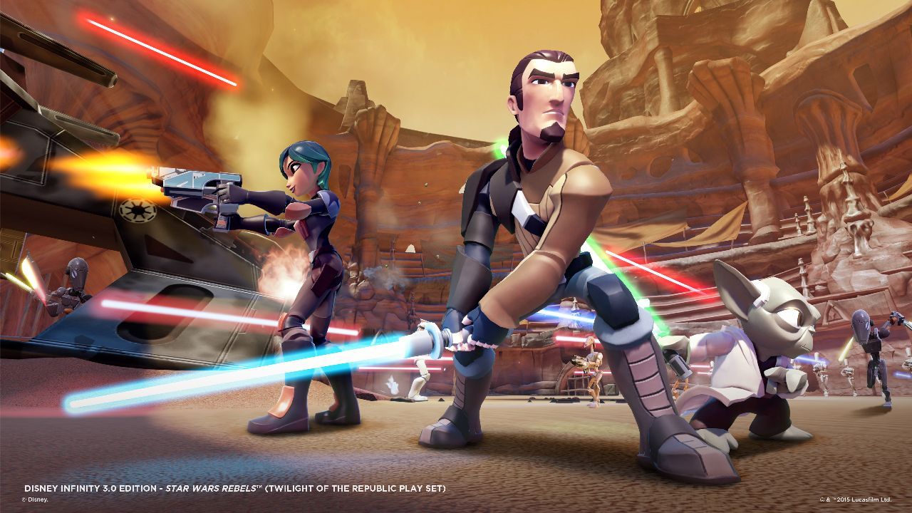Star Wars Rebels (Twilight of the Republic Play Set)