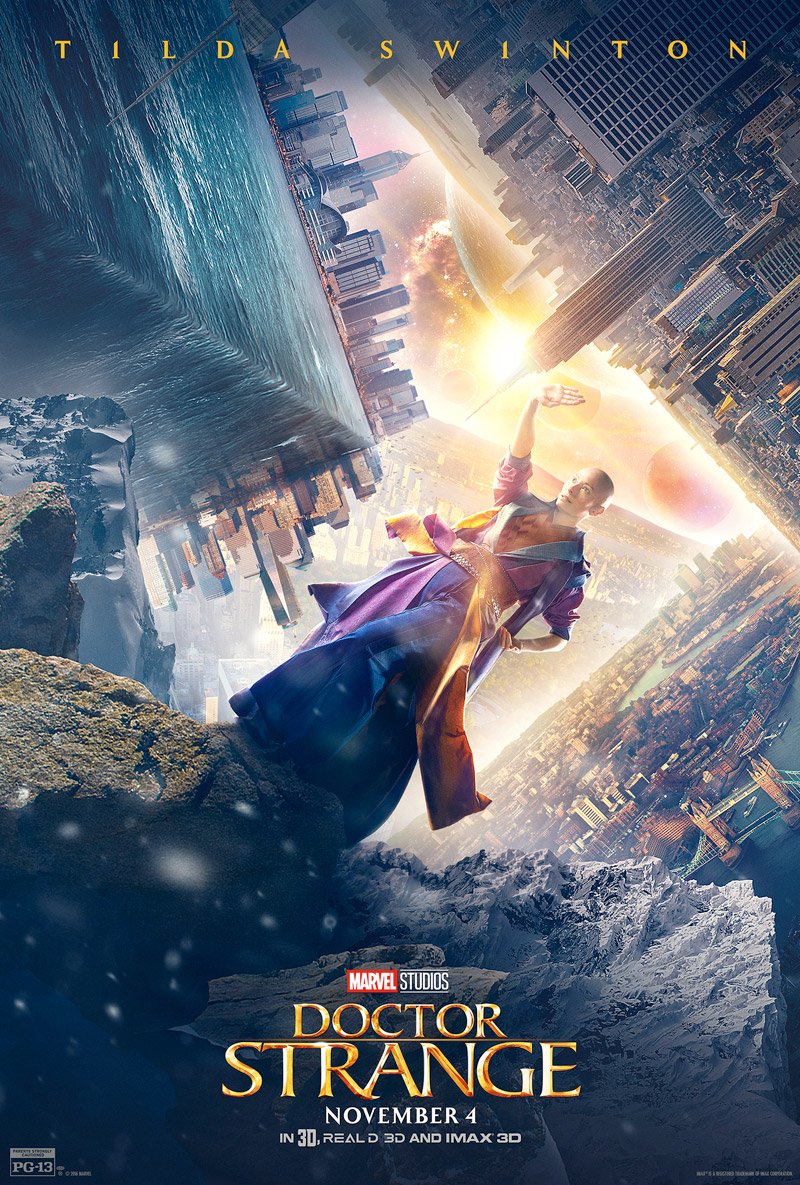 Doctor Strange Posters for Mordo, Ancient One and Kaecilius