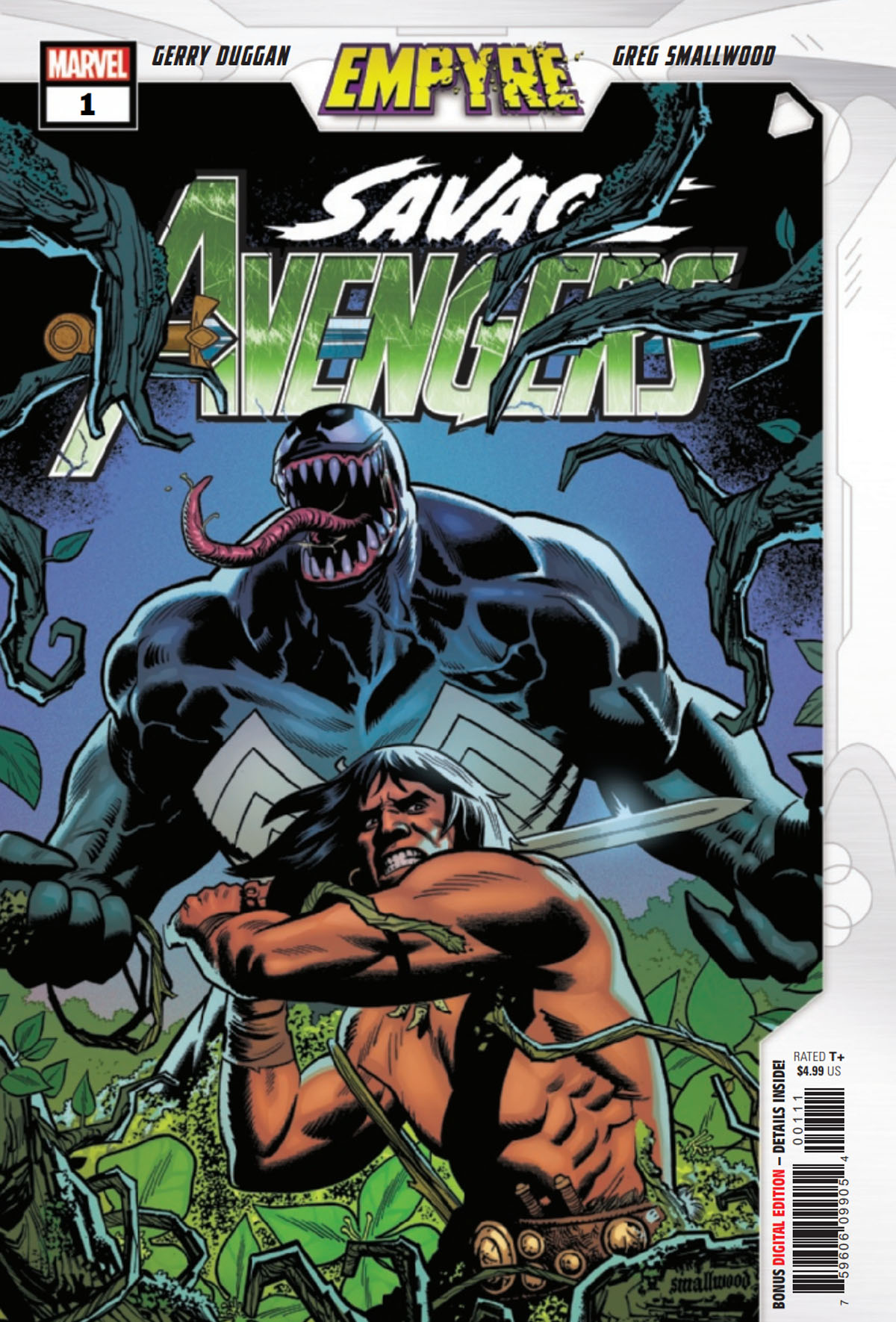 Empyre: Savage Avengers #1 cover