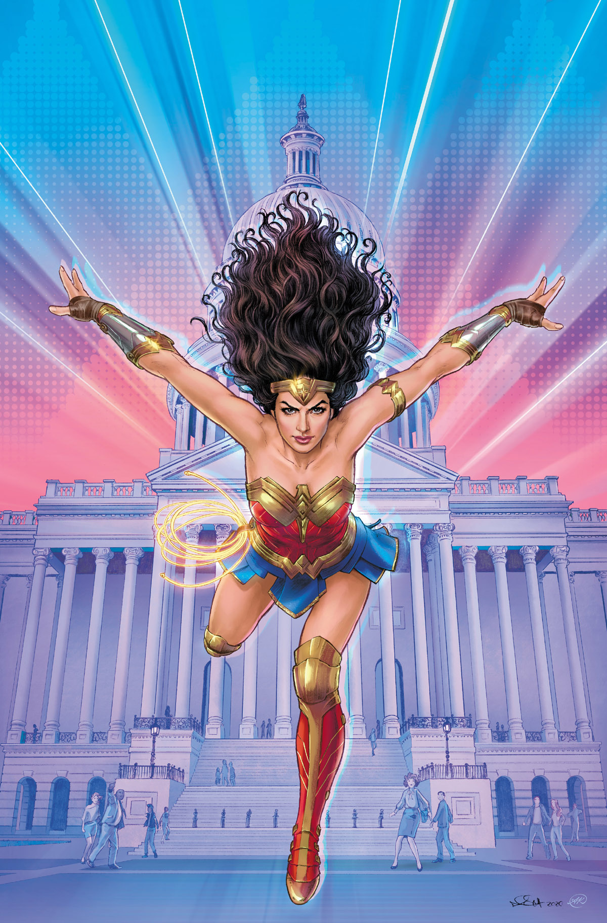 Wonder Woman 1984 #1 cover