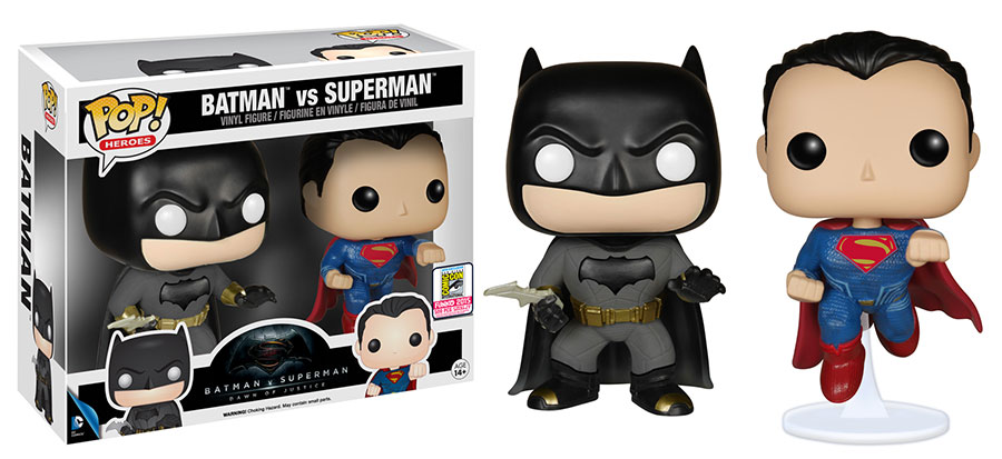 Pop! Heroes: Batman v Superman - Batman v Superman 2-pack