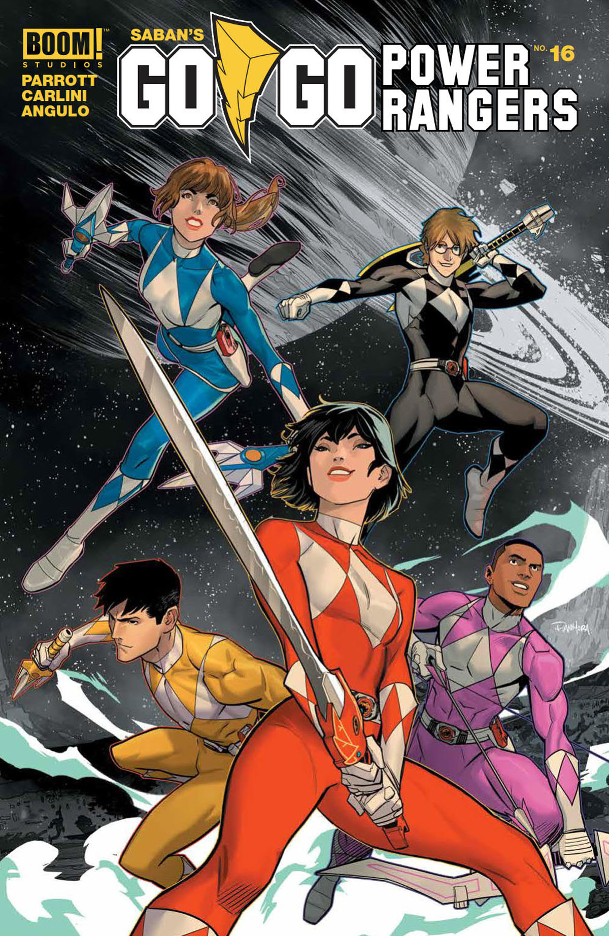 Go Go Power Rangers #16 cover