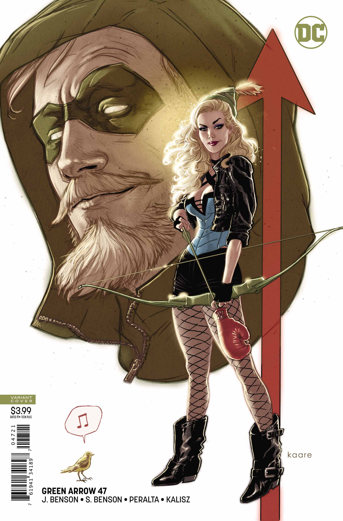 Green Arrow #47 variant cover