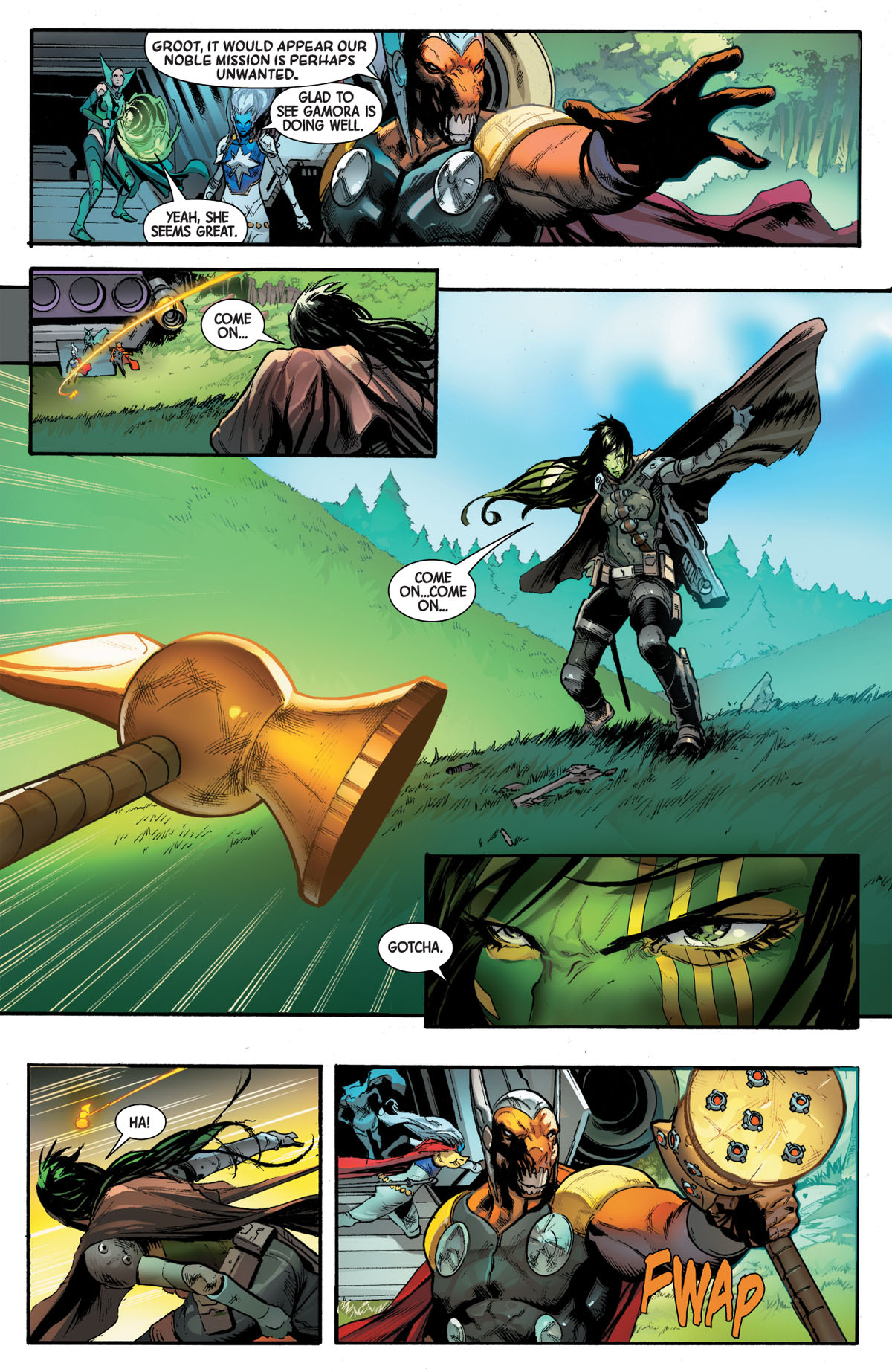 Guardians of the Galaxy #4 page 3