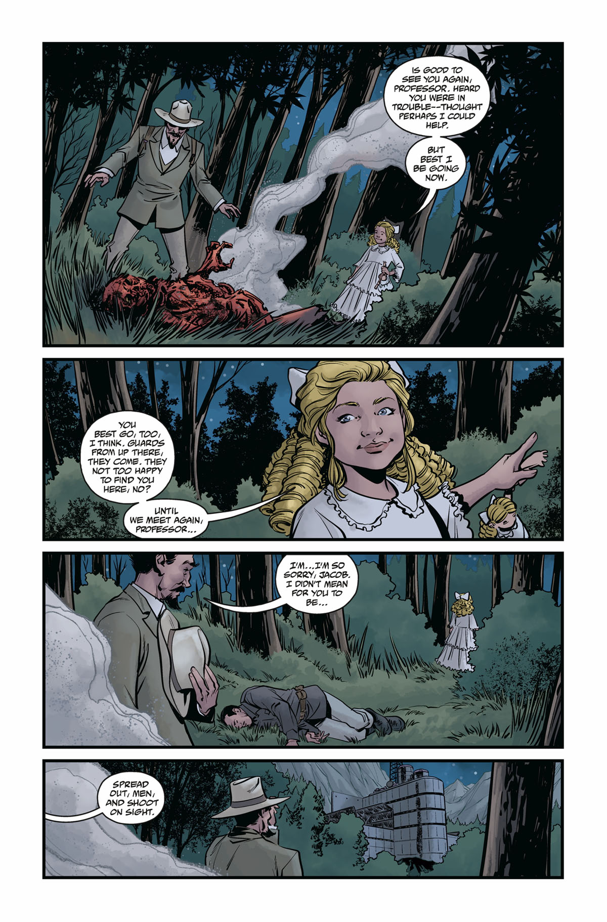 Hellboy and the BPRD 1956 #4 page 4