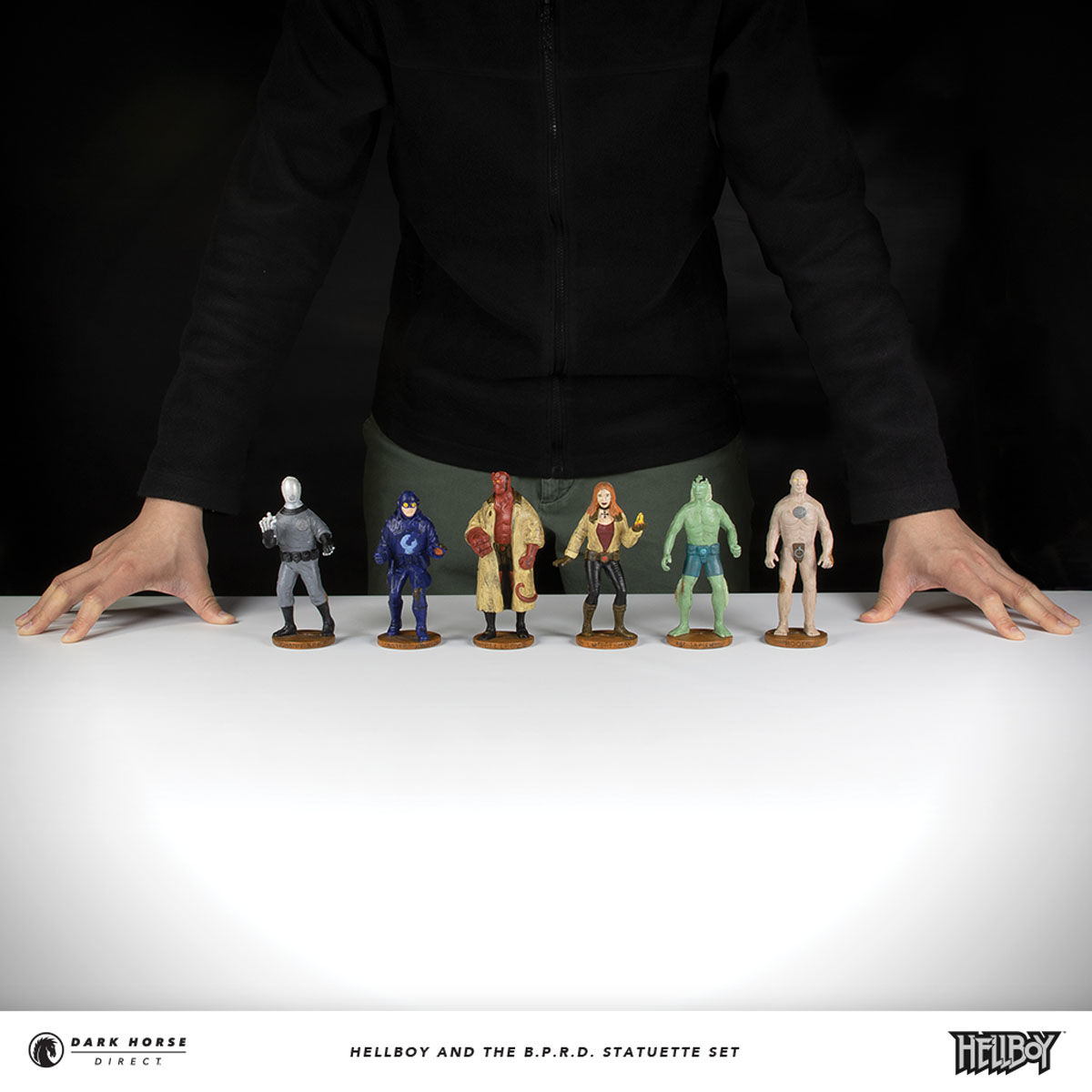 Hellboy and the B.D.P.D. Statuette Set 2