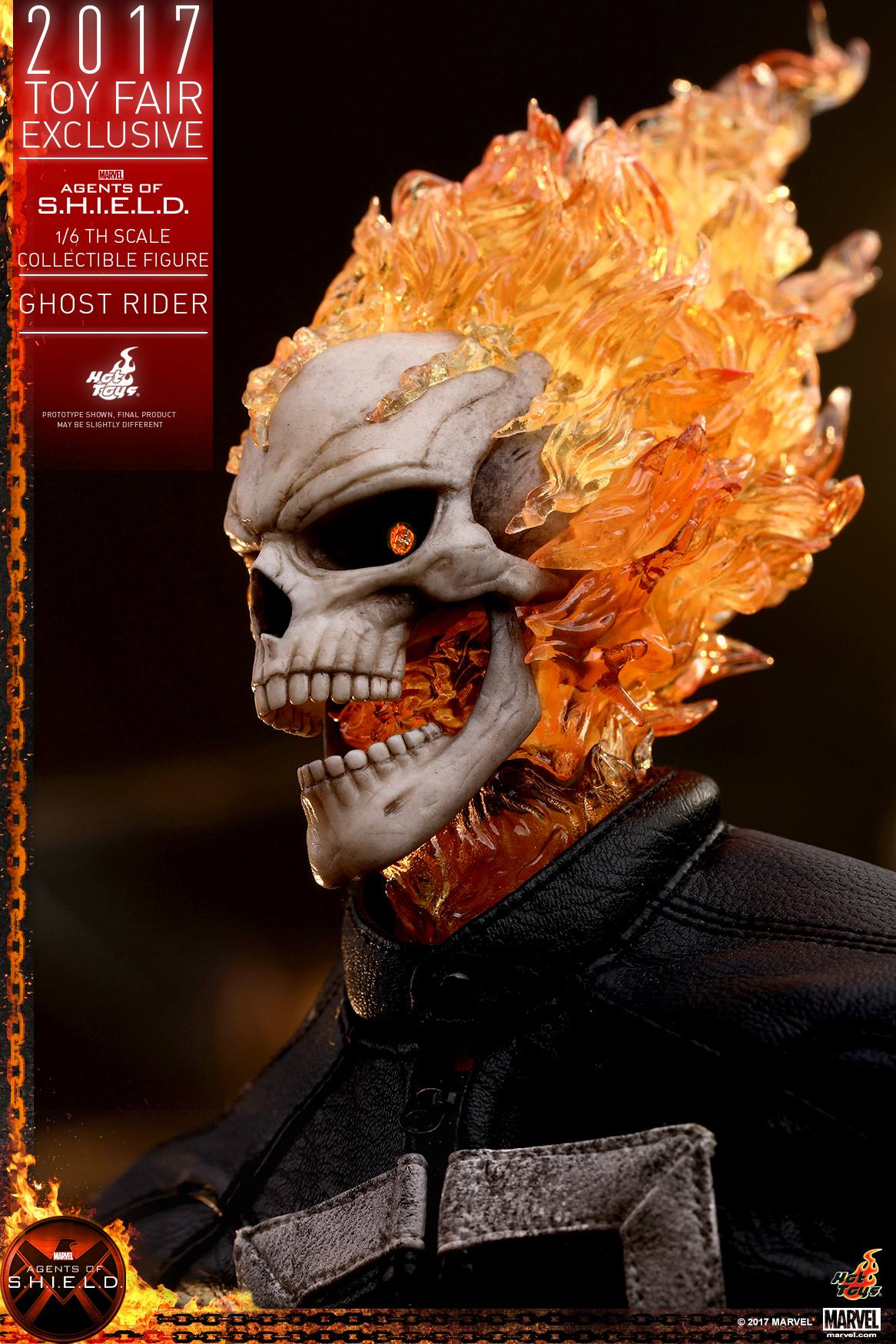 Hot Toys Reveals Agents of SHIELD's Ghost Rider Figure - SuperHeroHype