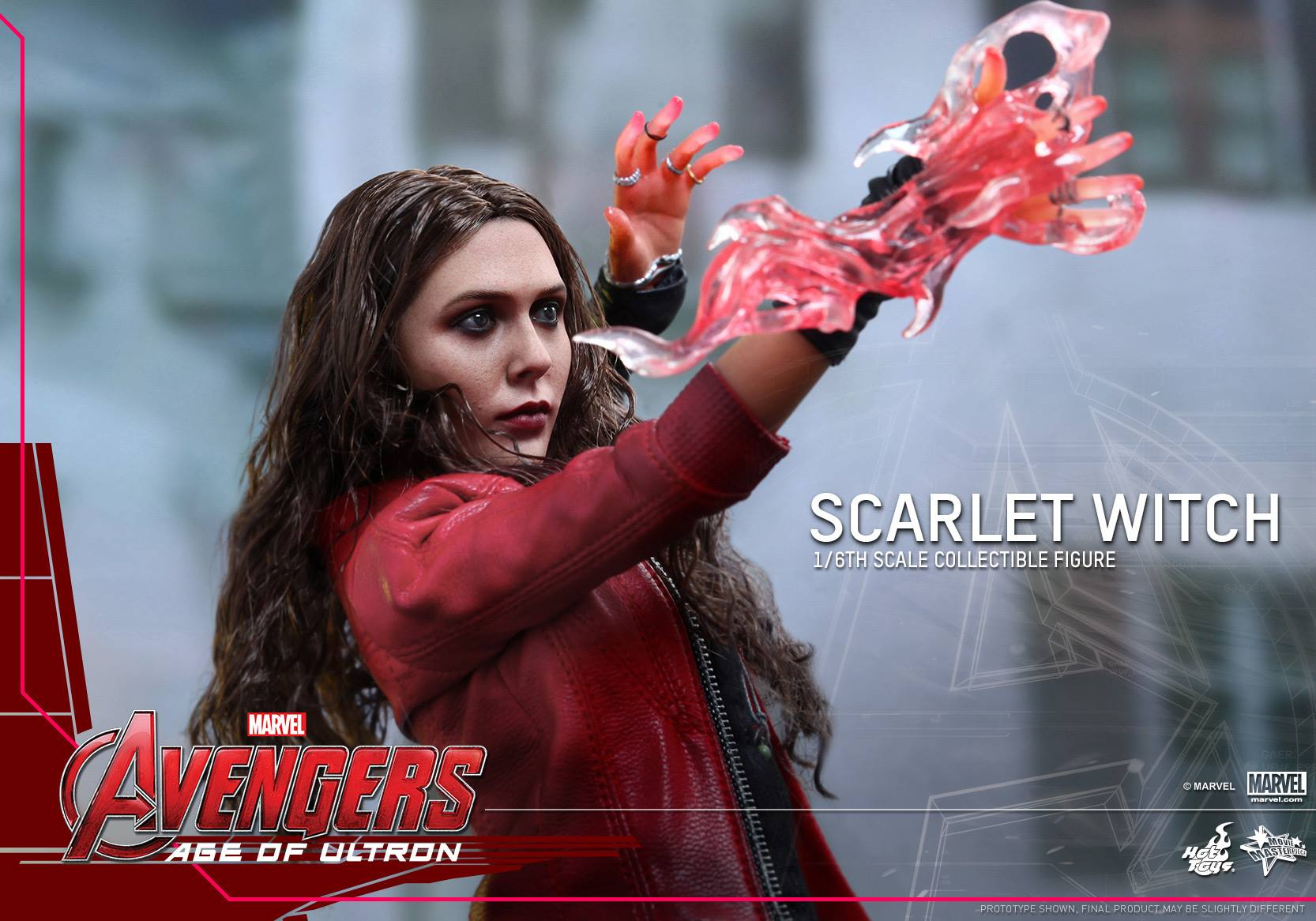 Hot Toys Reveals Avengers: Age of Ultron's Scarlet Witch Premium ...