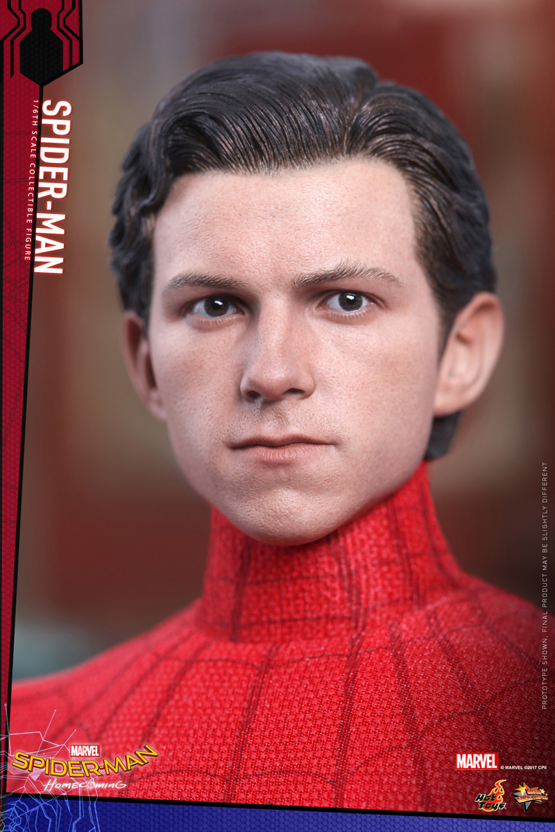 Mark Xlvii Hot Toys Figure For Spider Man Homecoming