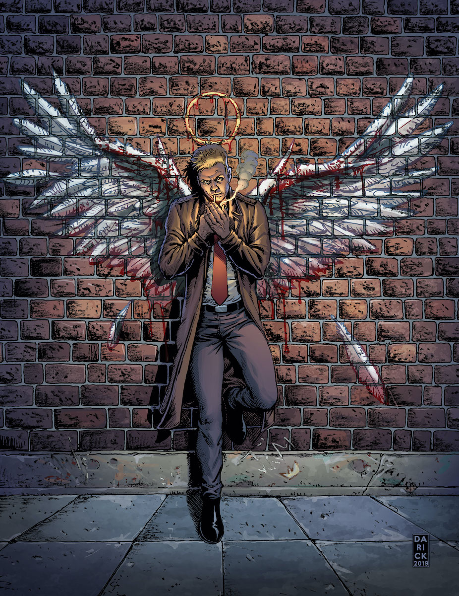 Hellblazer: Rise and Fall #1 Cover