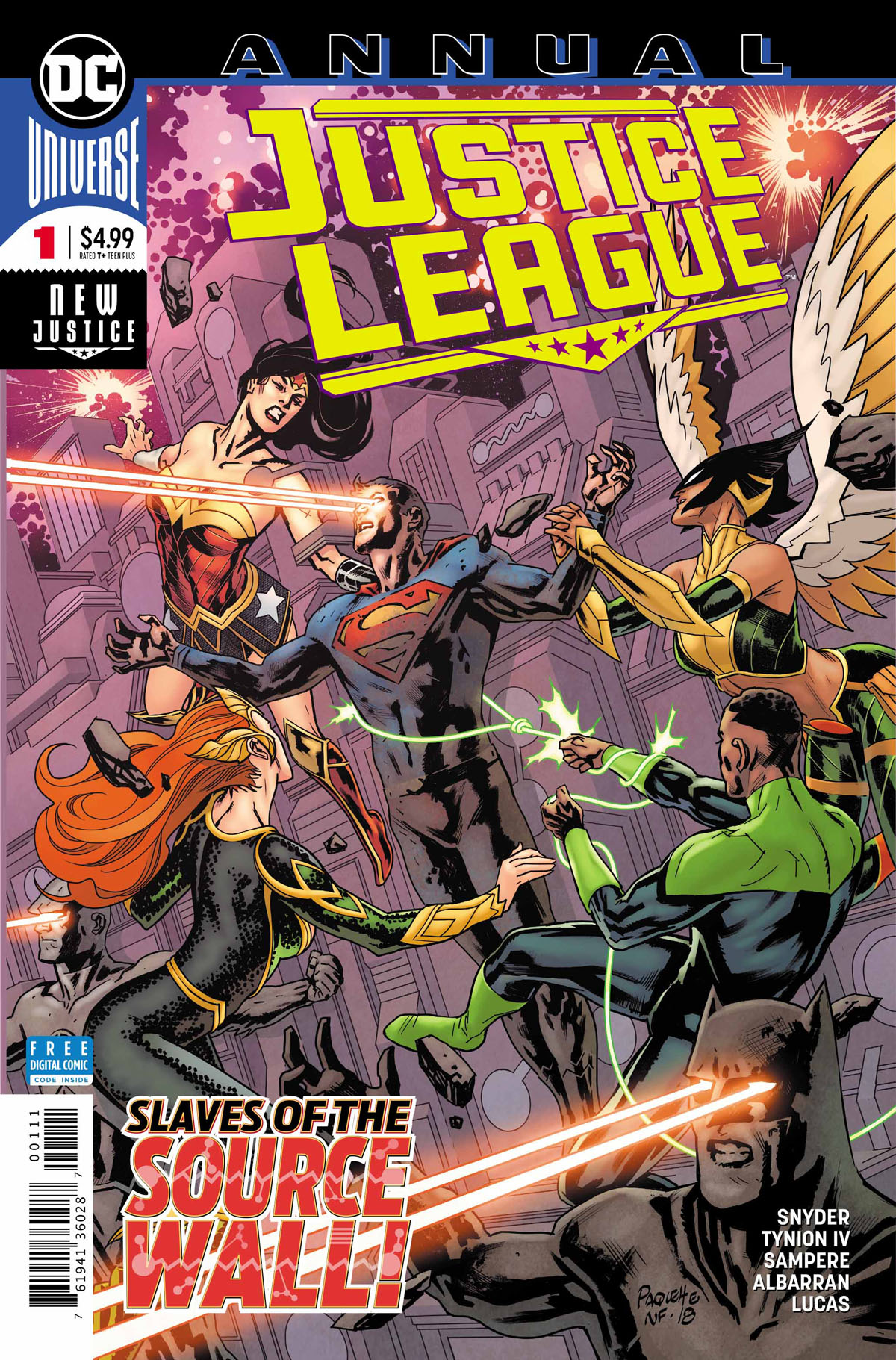 Justice League Annual #1 cover