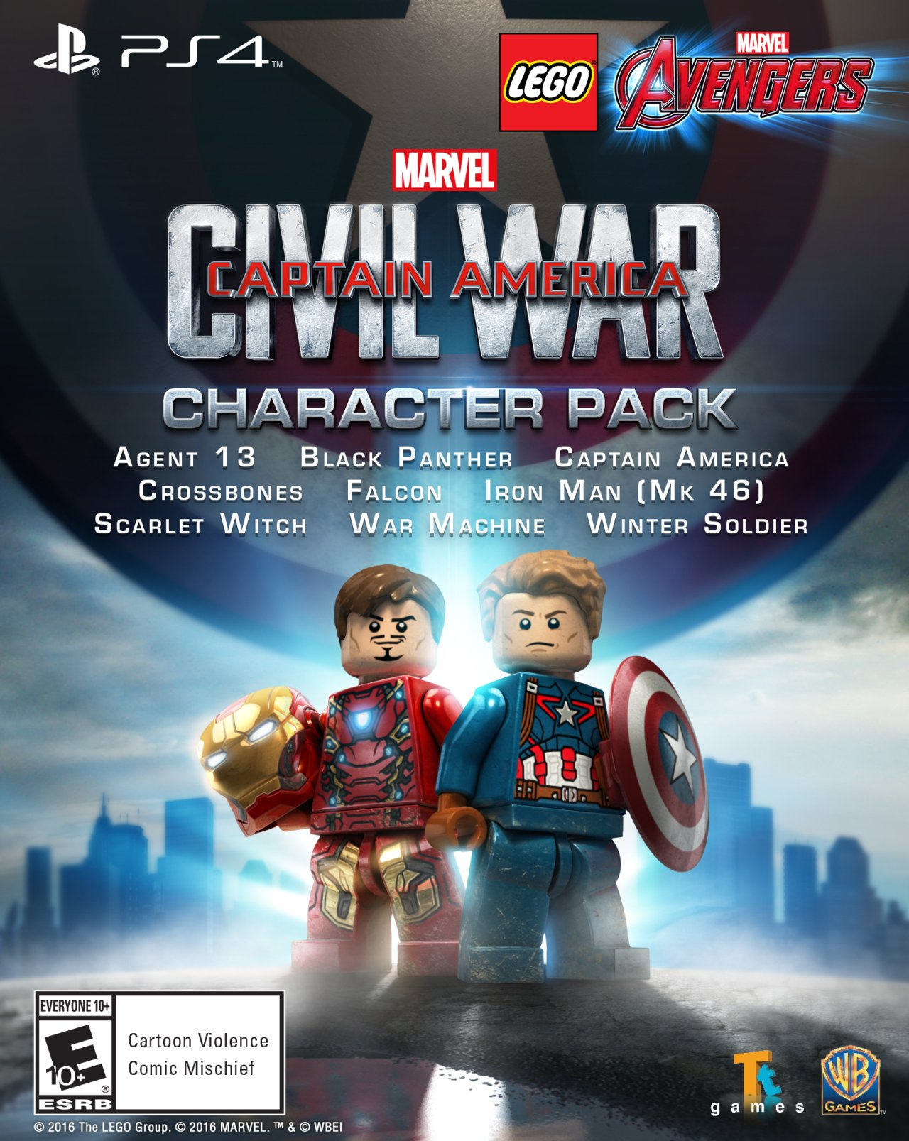 first new characters for lego marvel u0026 39 s avengers revealed