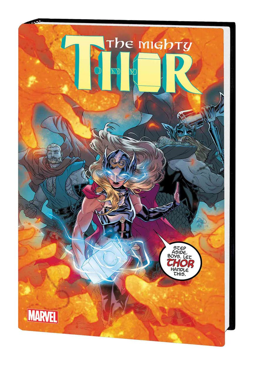 MIGHTY THOR VOL. 4: THE WAR THOR PREMIERE HC