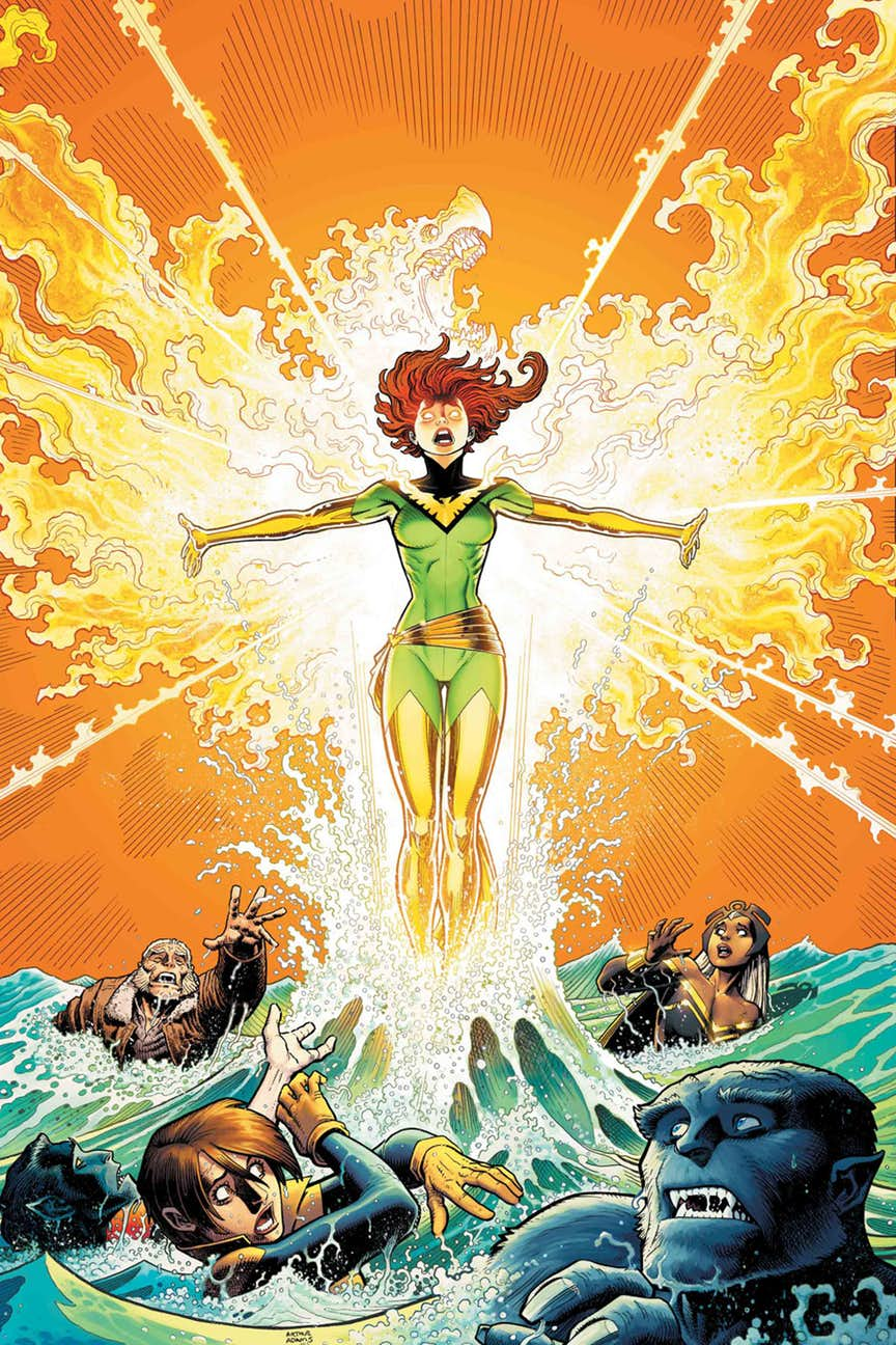PHOENIX RESURRECTION: THE RETURN OF (ADULT) JEAN GREY #1 VARIANT
