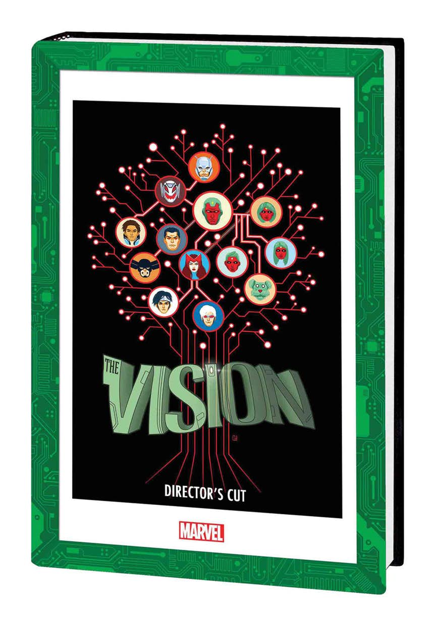 VISION DIRECTOR'S CUT HC