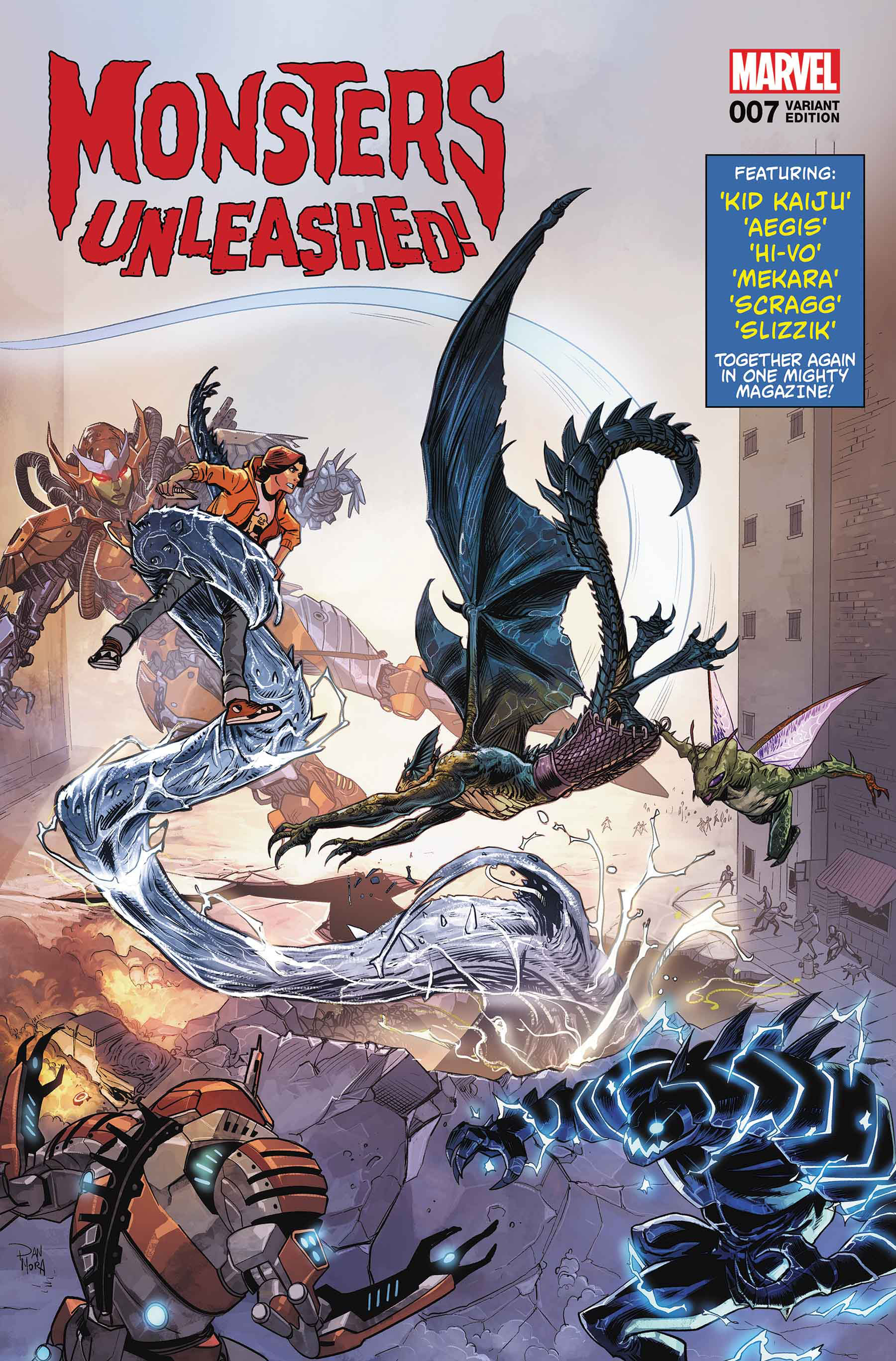 MONSTERS UNLEASHED #7 VARIANT