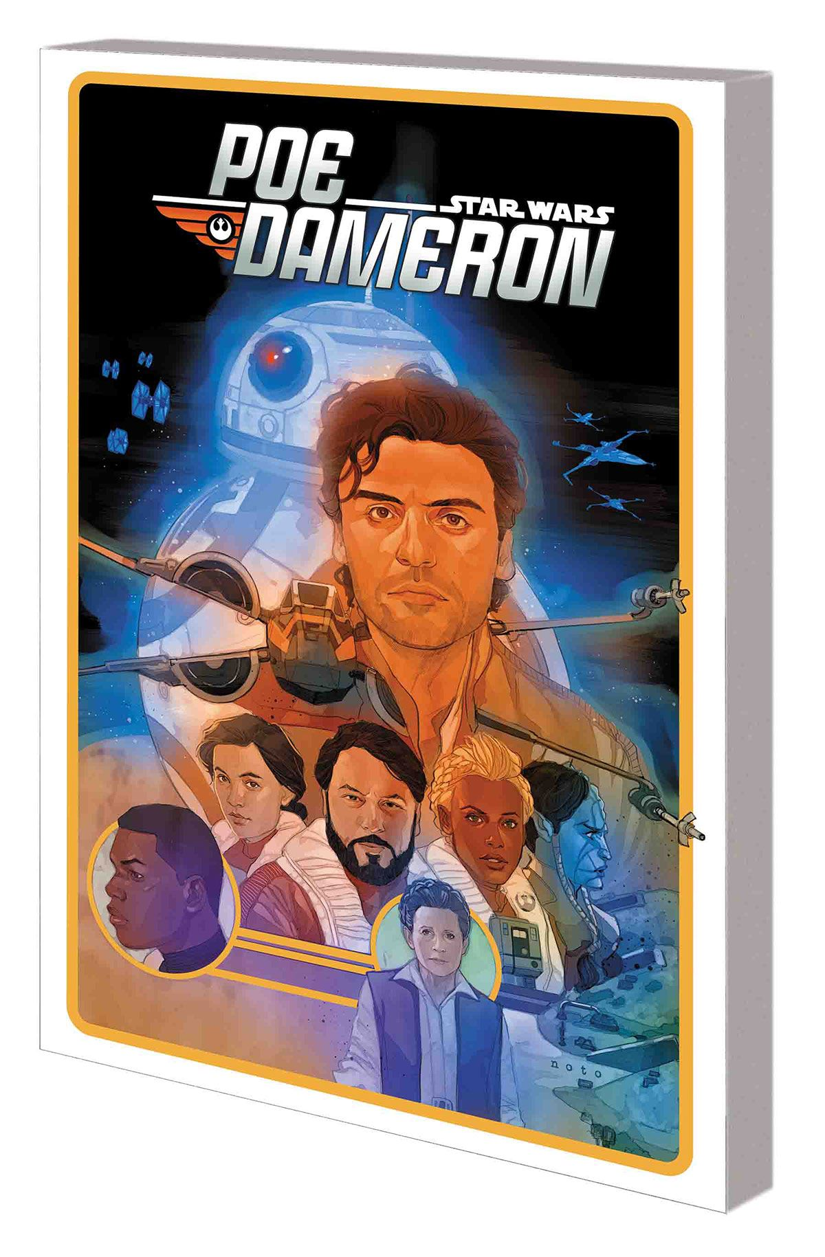 STAR WARS: POE DAMERON VOL. 5: THE SPARK AND THE FIRE TPB