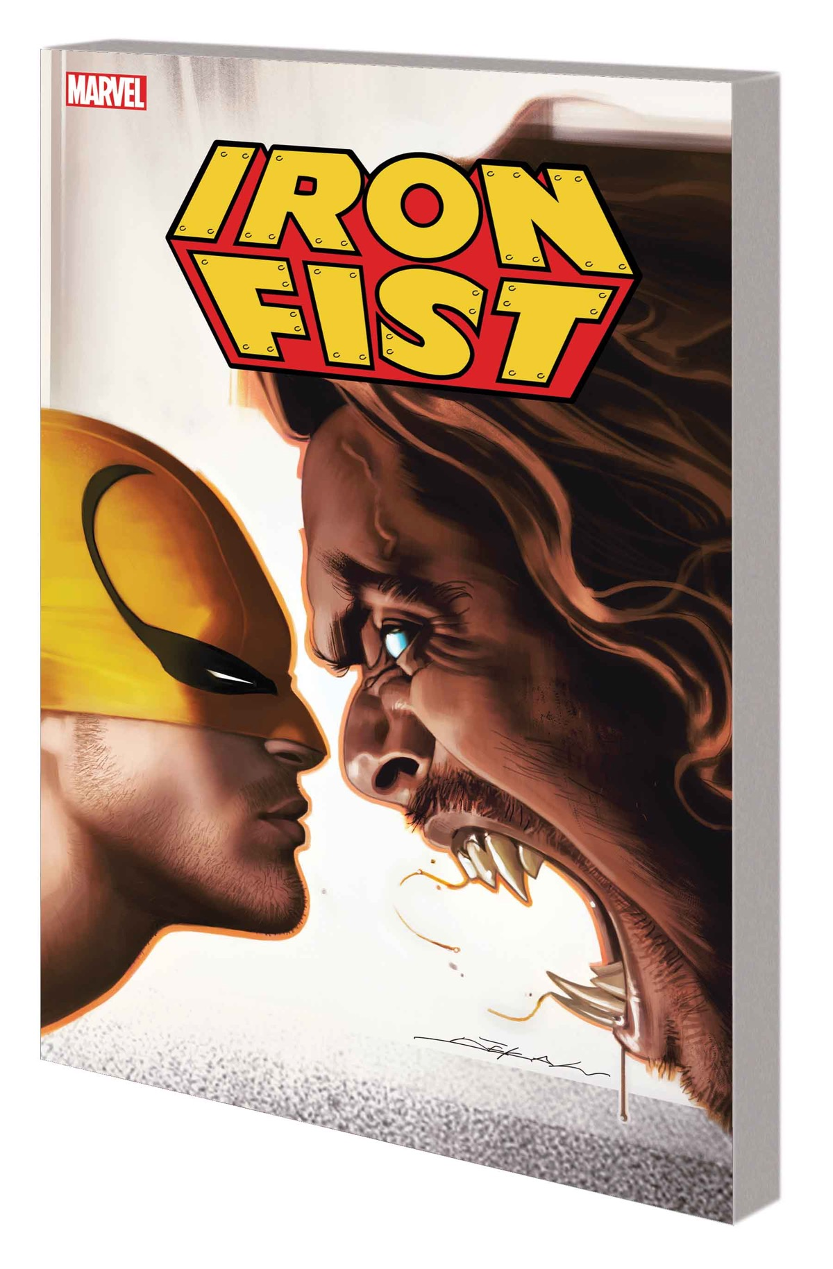 IRON FIST: SABRETOOTH - ROUND TWO TPB