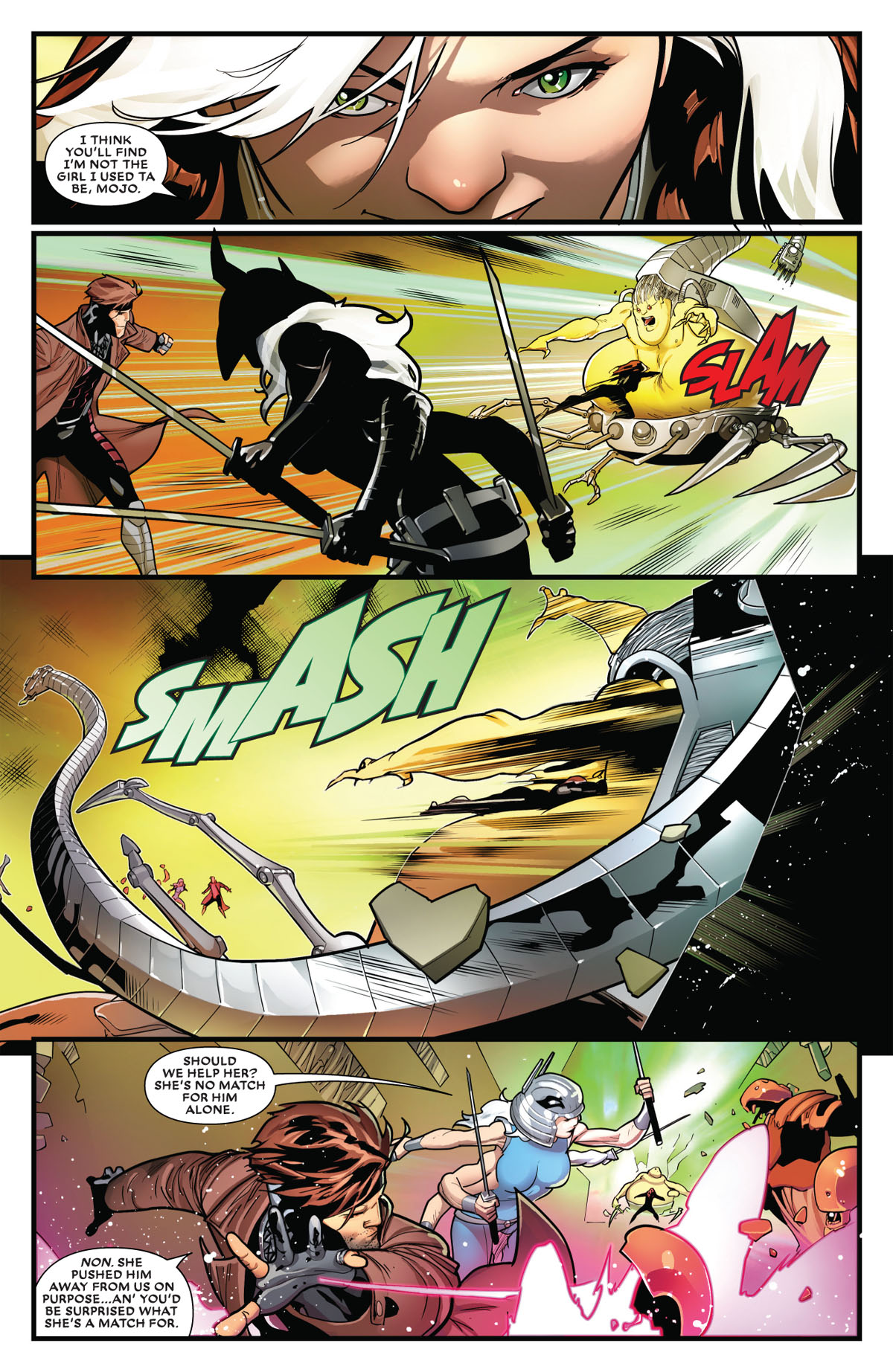 Mr. and Mrs. X #10 page 4