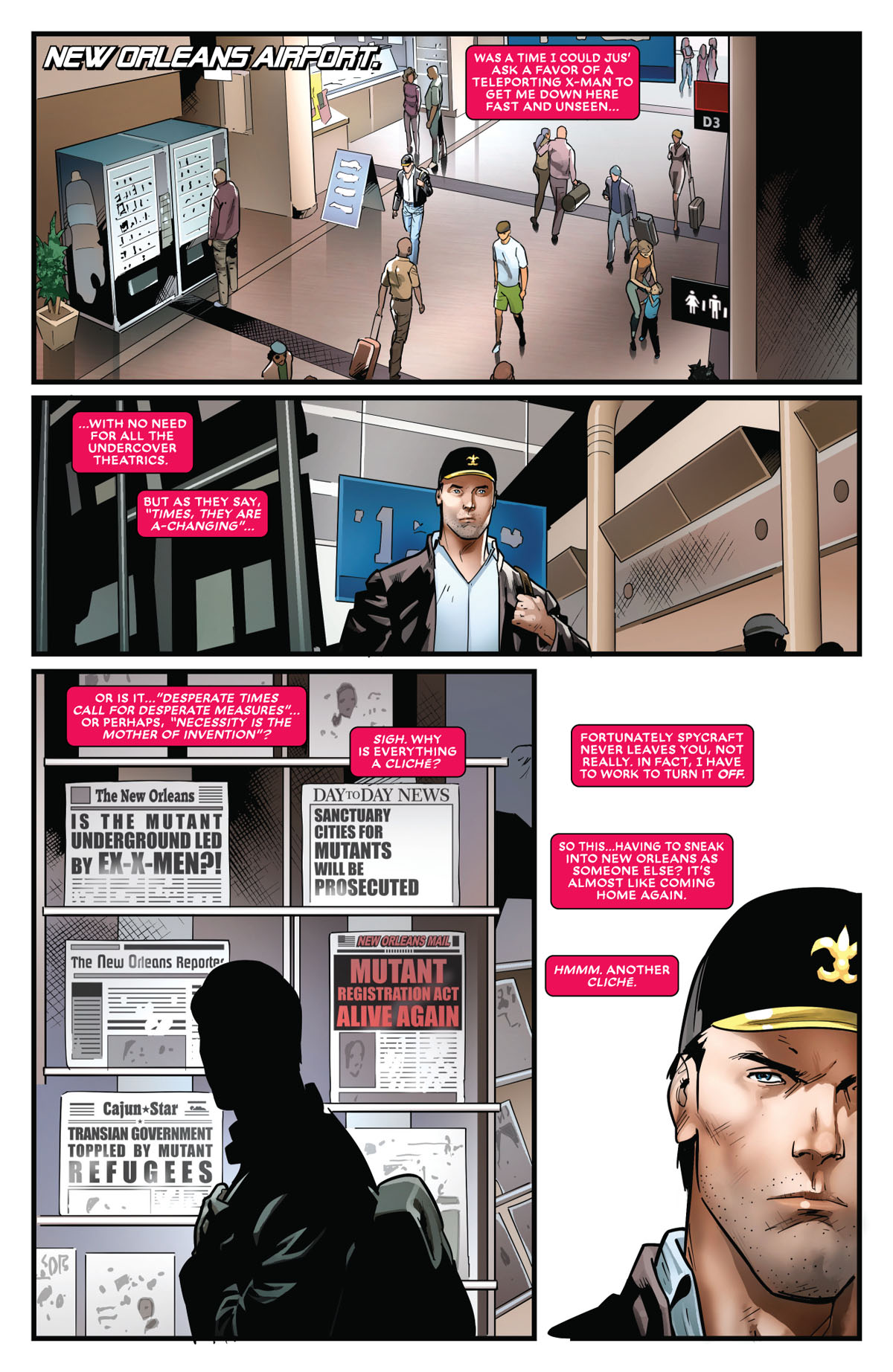 Mr. and Mrs. X #11 page 1