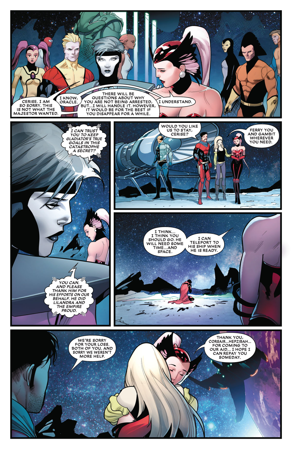 Mr. and Mrs. X #5 page 2