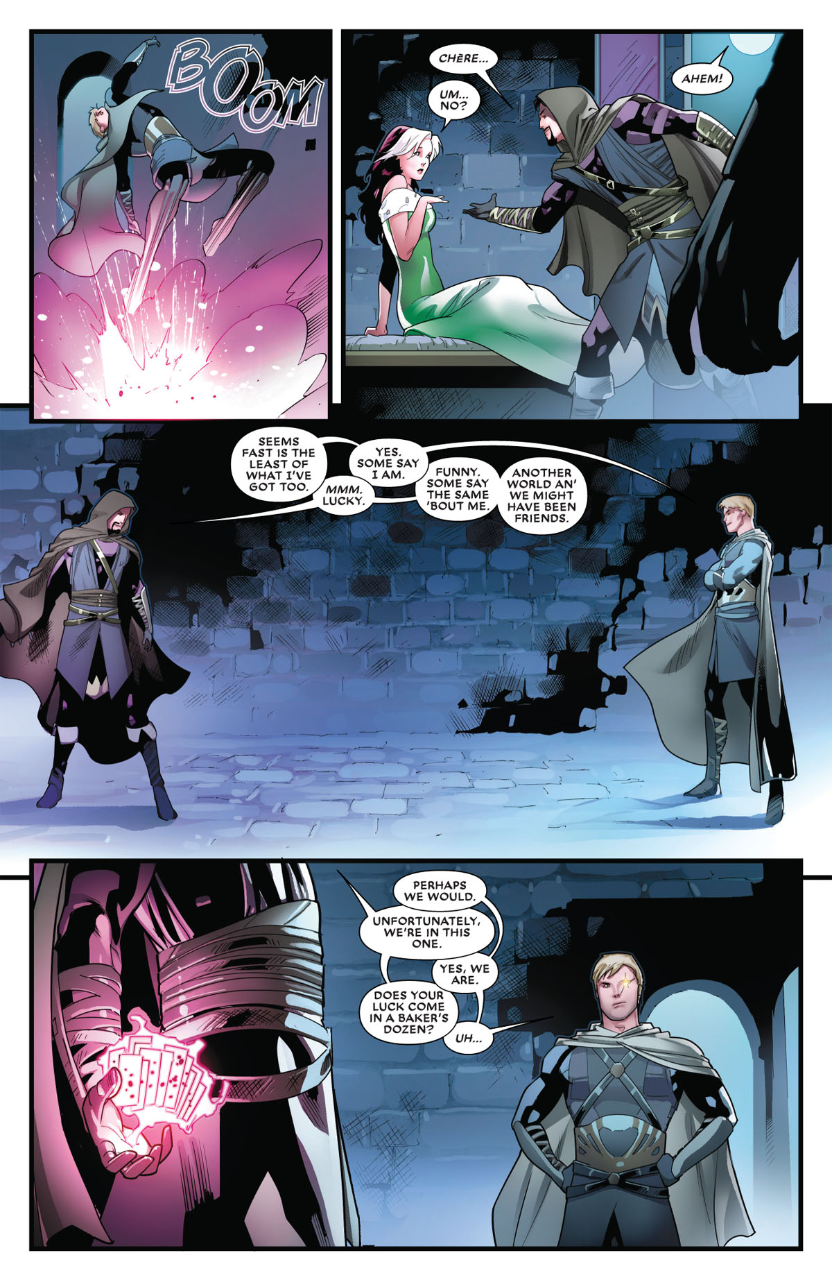 Mr. and Mrs. X #8 page 4
