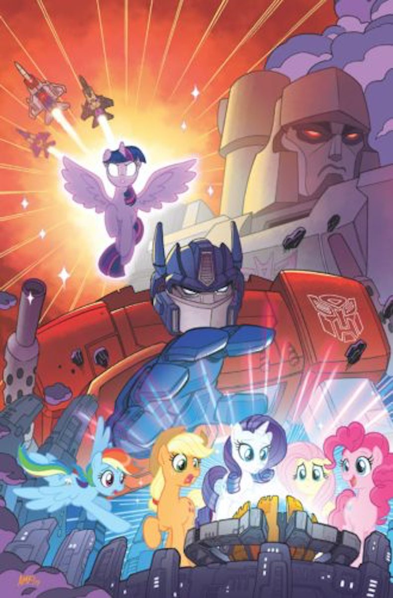 My Little Pony/Transformers Cover by Tony Fleecs